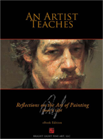 AN ARTIST TEACHES: REFLECTIONS ON THE ART OF PAINTING (HARDCOVER)
